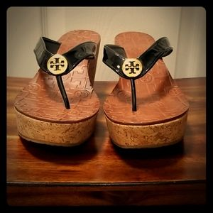 Tory Burch Thora Wedge sandals, size 10M